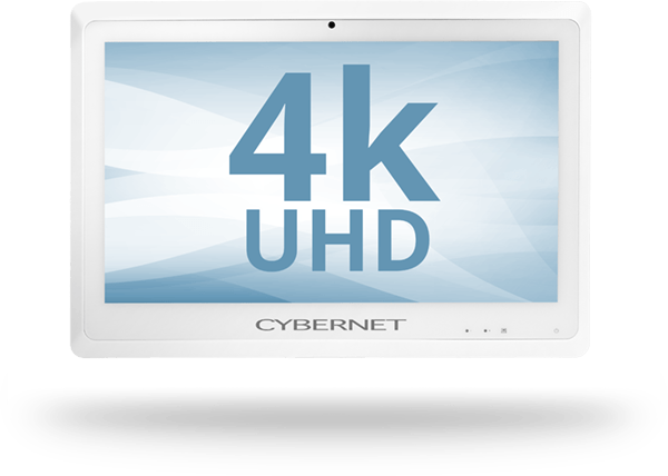 "24"" Healthcare Computer with 4K UHD Display"