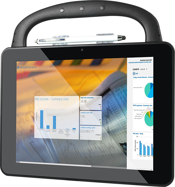 T10C Windows Tablet for Business with Enterprise Software